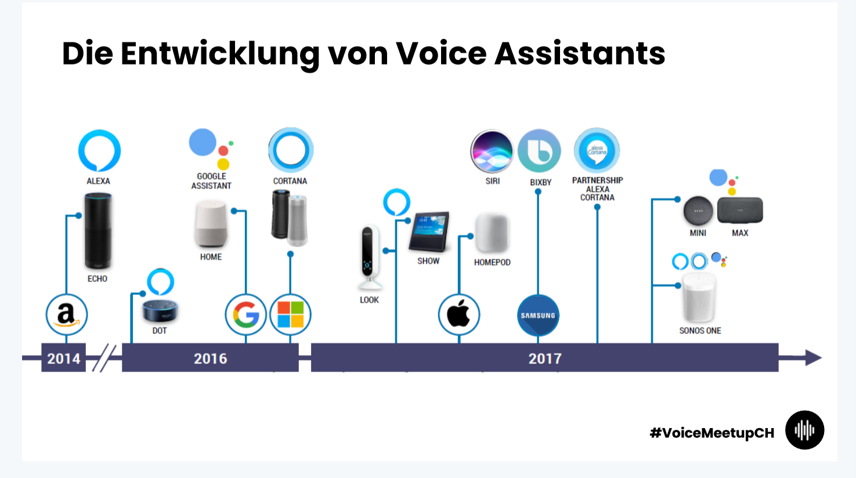 Entwicklung Voice Assistants