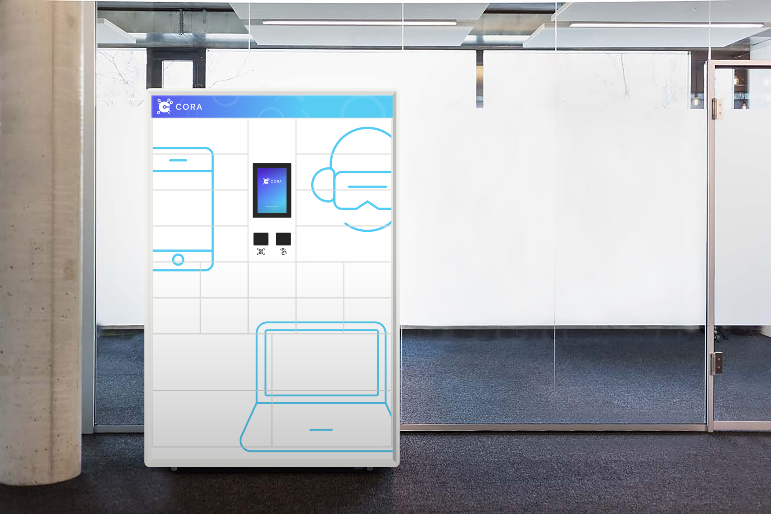 PIDAS lanciert neueste Generation des IT-Automaten «CORA»