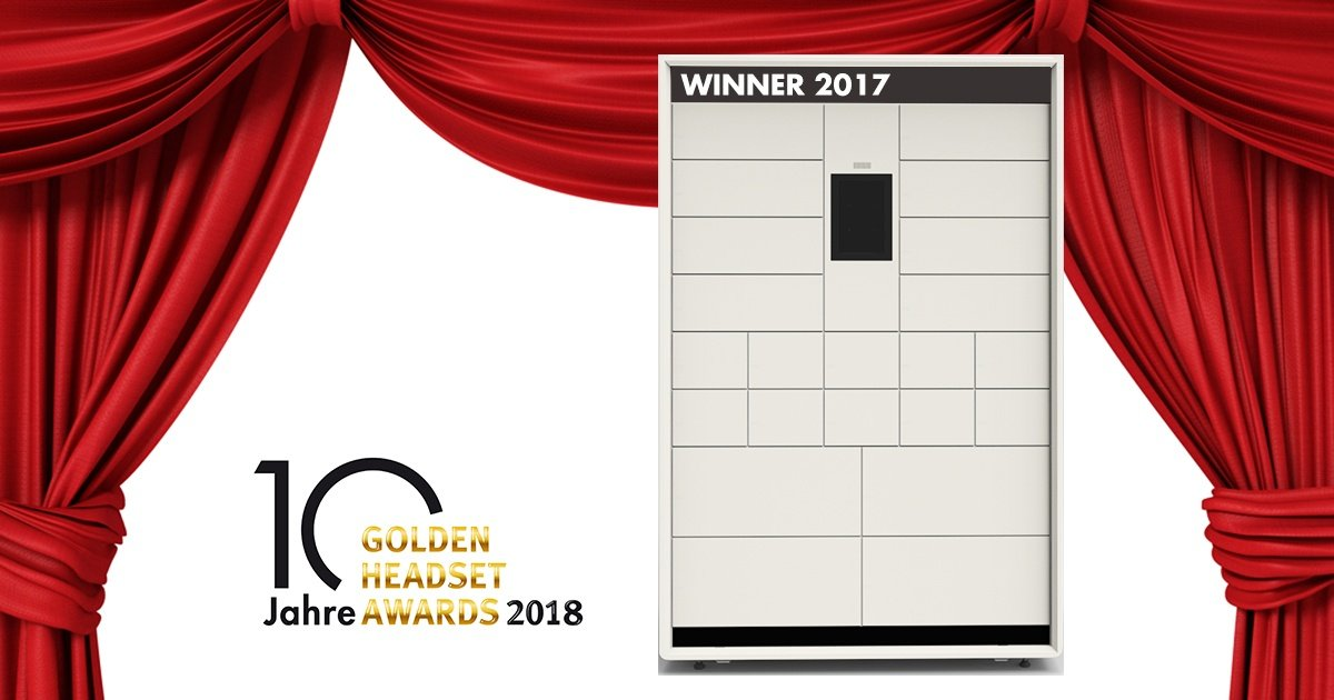 Vorjahressiegerin CORA als Ehrengast am Golden Headset Award