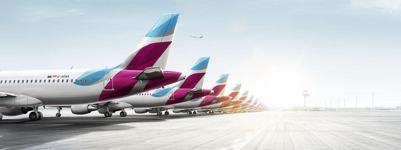 Eurowings - Service-Exzellenz im Anflug